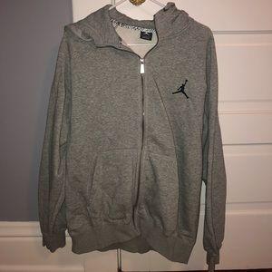 Men's Jordan zip-up hoodie